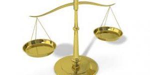 Visuel balance justice